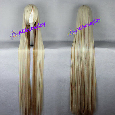 Chobits chii cosplay wig long wig 150cm 59inche wig mixed color acgcosplay