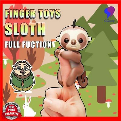 2017 New Interactive Pet Electronic Sloth Sound Finger Motion - Pre Order No Box