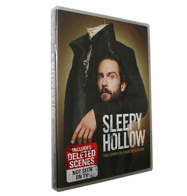 Sleepy Hollow Season 4 (DVD, 2017, 4-Disc Set) Send free