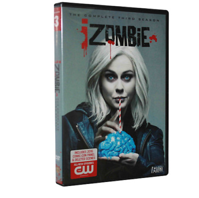 iZombie Season 3 (DVD, 2017, 3-Disc Set) Send free