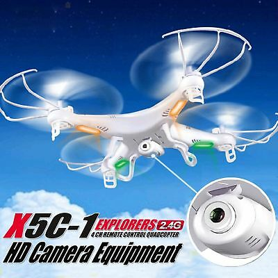 X5C-1 8GB UFO HOT 2.4Ghz 4CH 6Axis Gyro RC Quadcopter Drone 2MP HD Camera RTF