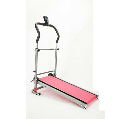 Mechinical Portable Folding Treadmill Home Exercise Fitness
