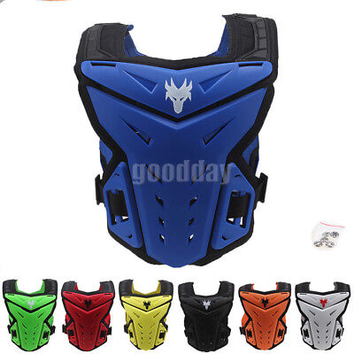 Adult Motorcycle Chest Guard Protector Dirt Bike Off Road Racing Gear Armor ATV