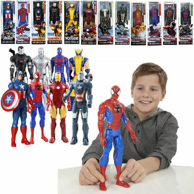 Marvel Super hero Series Spider-man Thor Wolverine 12 Inch Figure Kid Toy BOXED
