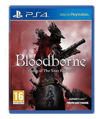 Bloodborne GOTY (Game of the Year Edition)  PS4 - Brand New !