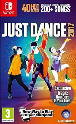 Just Dance 2017 Nintendo Switch *NEW*+Warranty!