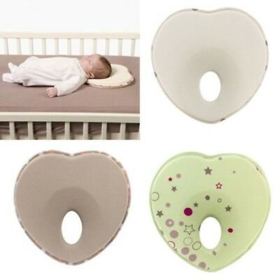 Anti Roll Soft Baby Infant Prevent Flat Head Foam Memory Pillow Sleeping Support