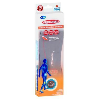 Scholl Orthaheel Insoles Shock Absorber Orthotic *rrp $49.95*