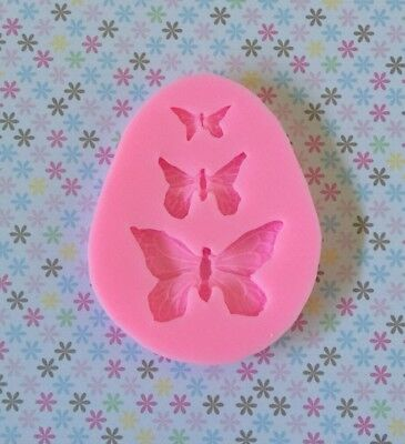 Silicone Butterfly Mould Cake Fondant