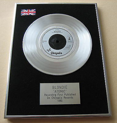 BLONDIE Atomic PLATINUM Single DISC Presentation