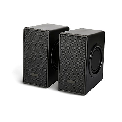 USB Powered Computer Speakers PC Laptop Stereo Super Bass Sound Subwoofer System