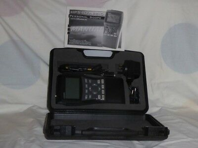 Velleman Hps40 Personal Scope Handheld Oscilloscope With Usb Boxed Superb