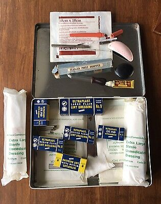 Vintage Ultraplast First Aid Kit HSE2 Cameron Walker Glasgow Full
