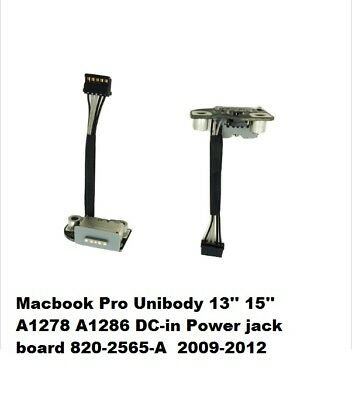 Power DC Jack For MacBook A1278 A1286 A1297  820-2565-A 2009 2010 2011