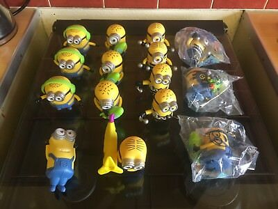 Large Bundle Of Minions McDonald's Happy Meal Toys (15pc)All Excellent Condition