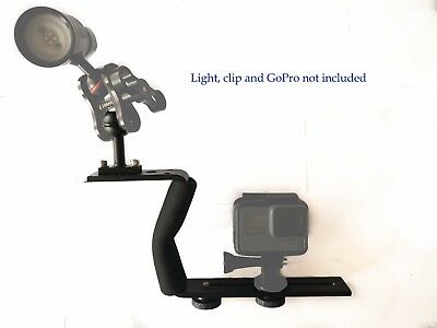 Single Handle Underwater Diving Video or Camera Tray for GoPro, SJCAM, TG5