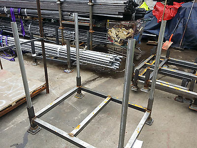 British Steel Stillage,metal post pallet,stackable,storage,heavy duty