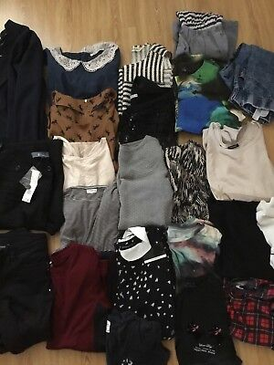 Ladies Large bundle mixed clothes size 10-12 jumpers,tops,river island,next,tu