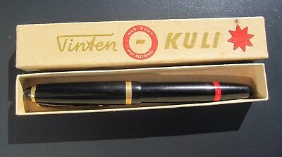 Vintage Black Red Rotring Tintenkuli Fountain Pen technical drawing old antique