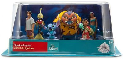 Disney Lilo And Stitch 6 Figurine Playset Figures. New & Free Delivery