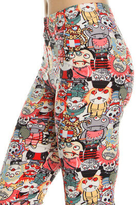 Women's Monster Leggings! SO CUTE! Perfect for Halloween! One Size OS