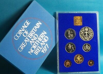 1977 United Kingdom Official Proof Coin Collection