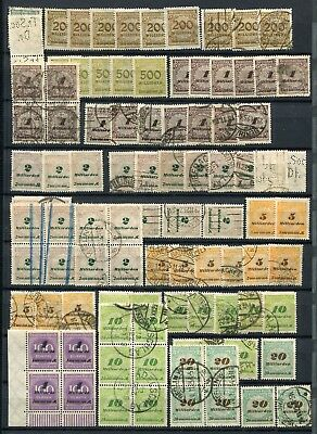 Germany ( Deutsches Reich) -  Small collection MNH/MH/Cancelled