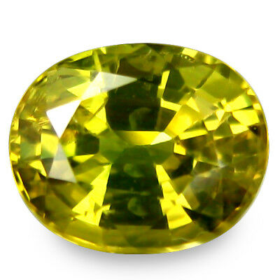 1.660CTS Gorgeous amazing green natural  sapphire oval loose gemstones see video