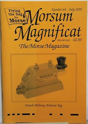 Morsum Magnificat Magazine  - Number 64  July 1999 - French Military Airborne