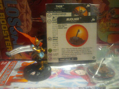 MARVEL Heroclix The Mighty Thor chase THOR 61 with object Mjolnir s09