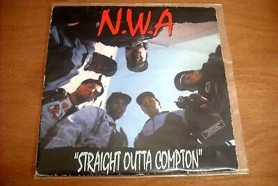 Nwa - Straight Outta Compton - Ruthless Records - Sl57102 - Usa First Pressing