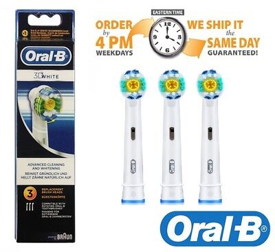 Braun Oral-B 3D White Replacement Toothbrush Heads / Same Day Dispatch