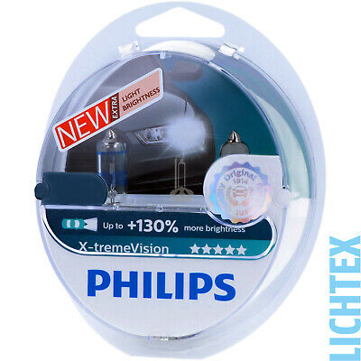 PHILIPS X-tremeVision - Take performance Halogen Scheinwerfer Lampe NEU