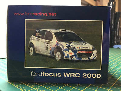 Action Ford Focus Wrc Rally 1/18 Solberg Rallye Finland 2000