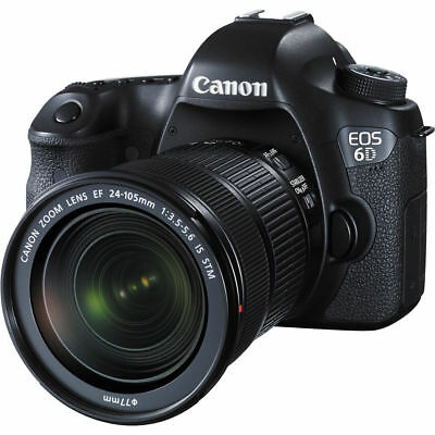 Canon EOS 6D DSLR Camera with 24-105mm STM Lens US