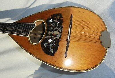 Vintage 1900 Ditson VICTORY Playable MANDOLIN Great TONE Great VOLUME Original