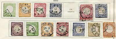Germany ( Deutsches Reich) -  Small collection  MH/Cancelled