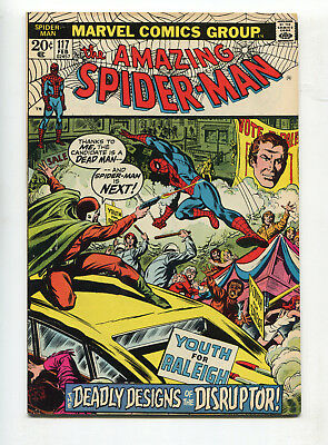 1973 Marvel The Amazing Spider-Man #117 1St Appearance Disruptor Fine-