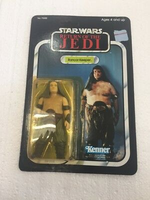 1983 Kenner Star Wars Return of the Jedi RANCOR KEEPER unpunched