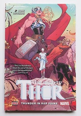 Mighty Thor Thunder In Her Veins Vol. 1 HC Marvel Graphic Novel Comic Book