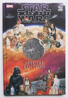 Star Wars Special Edition A New Hope Hardcover Marvel Graphic Novel Comic Book