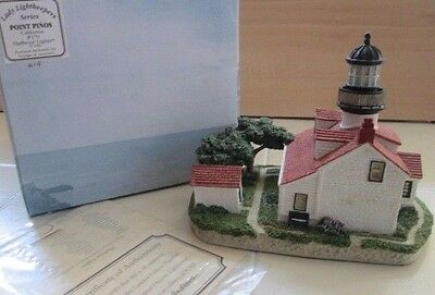 1996 Harbour Lights Lighthouse Point Pinos California #170 Replica Lightkeepers