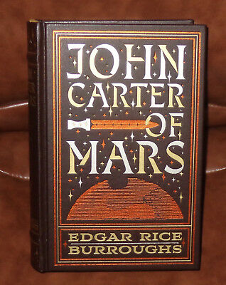 JOHN CARTER OF MARS by Edgar Rice Burroughs HC LeatherBound - NO SEALED WRAP NEW