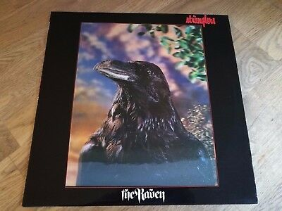 Stranglers LP The Raven UK United artists 1st press BEST 3D COVER IVE SEEN ++++