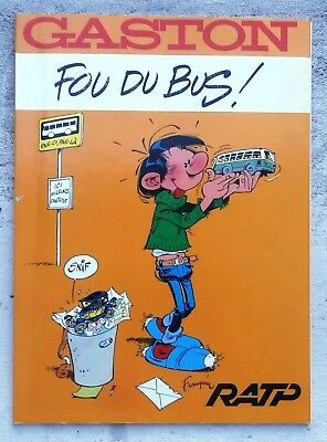 Gaston Fou du Bus EO 1987 TBE Franquin