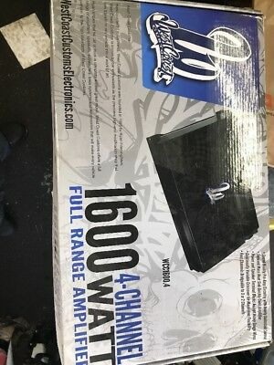 west coast customs Amplifier
