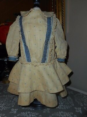 Antique Schoenhut Doll Dress for larger doll may be Factory Original not sure