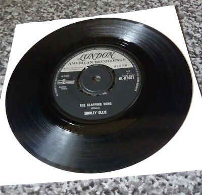 """The Clapping Song  -Shirley Ellis - 45rpm 7"""" Vinyl Record"""