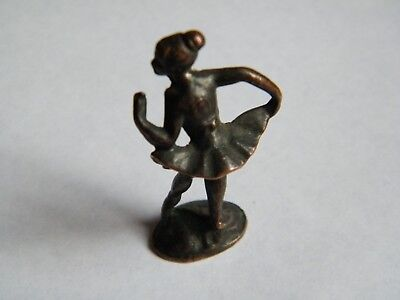 Ancien Kinder Metal Danseuse Ballerine N°1