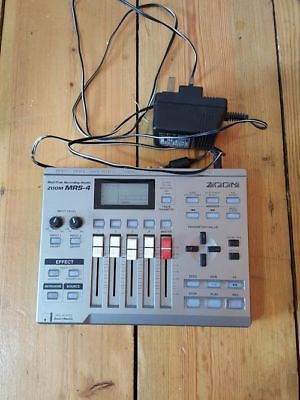 Zoom MRS4 Multi Track Recording Studio (Working) and with Power Supply